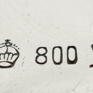 800er Silberstempel